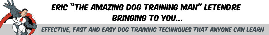 Amazing Dog Training Man - Free Gift